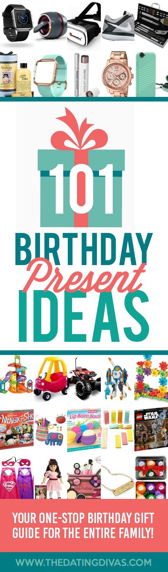 101 Birthday Presents