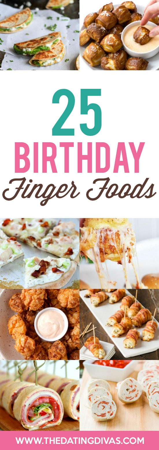 Finger Food Birthday Treats