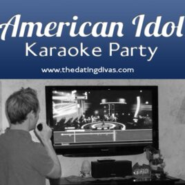 An American Idol themed Karaoke Date Night