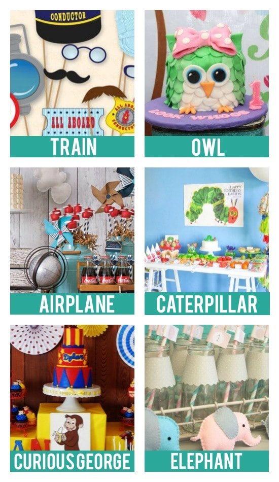 Baby Birthday Party Theme Ideas