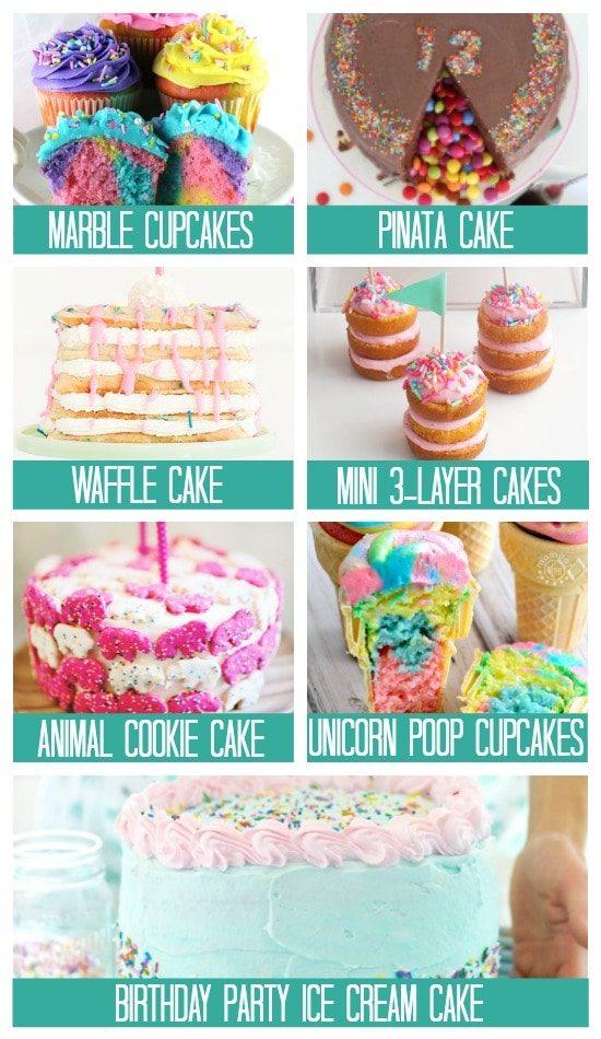 Cake Recipes Birthday Treats