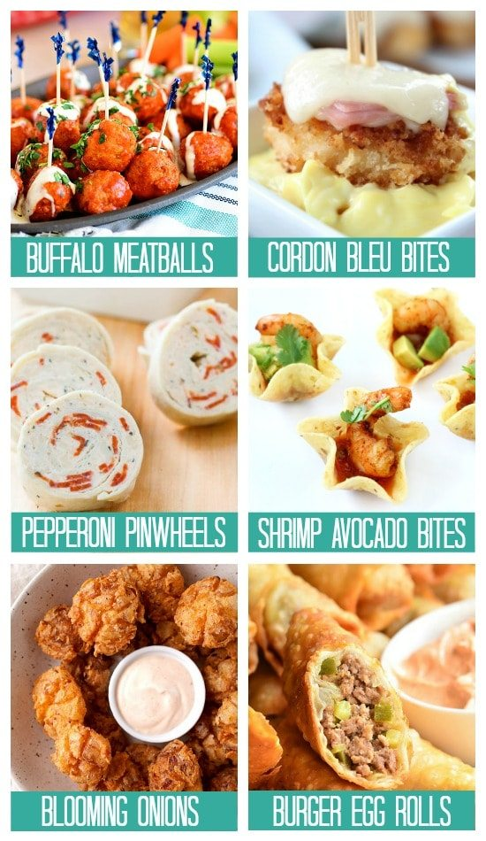 Finger Food Recipes Birthday Treats