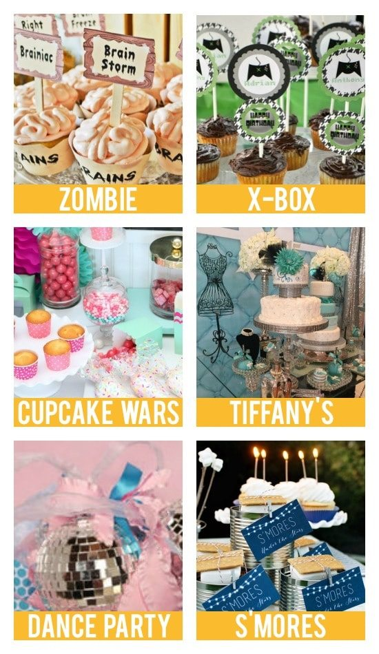 Birthday Ideas for Teens