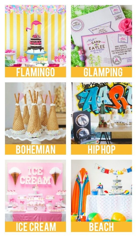 Birthday Party Themes For Teens