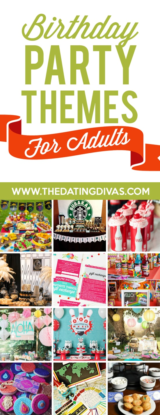 Birthday Party Themes For Adults