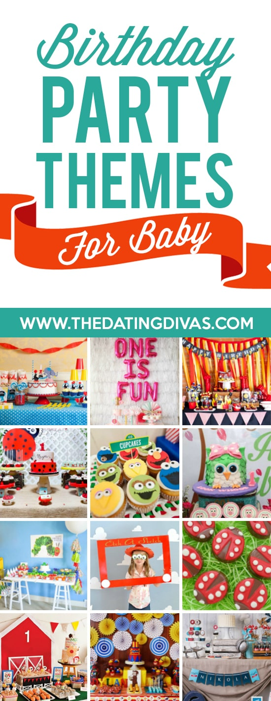 Birthday Party Themes for Baby