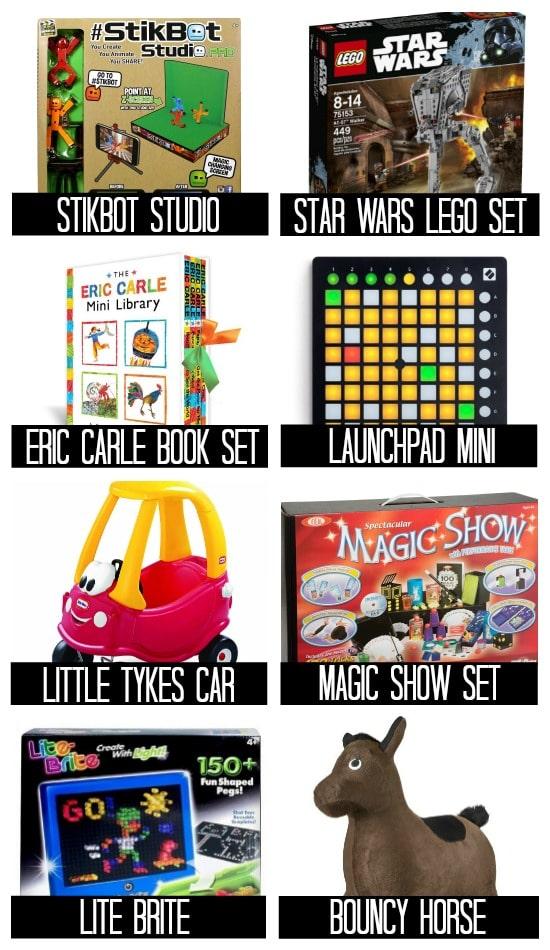 Ideas for Boys Birthday Presents