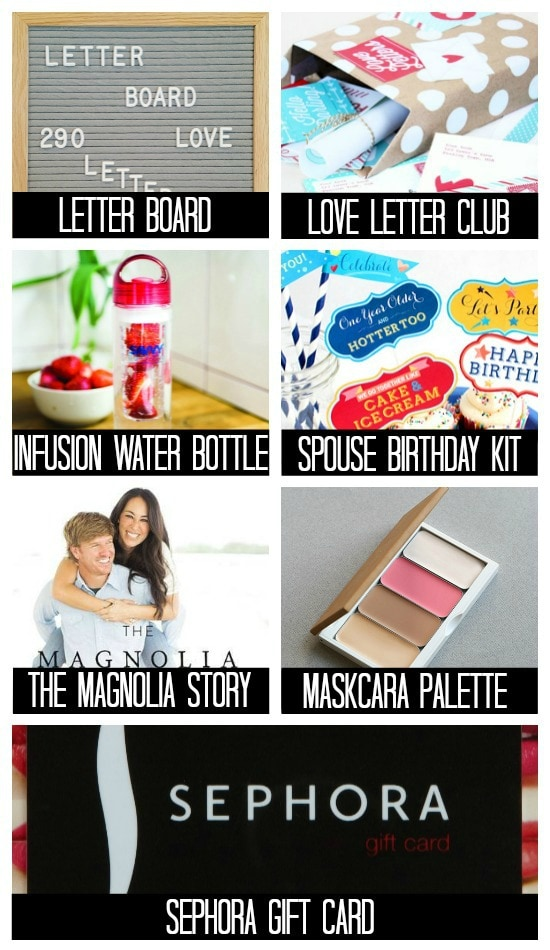 List Of Ideas For A Birthday Present Her