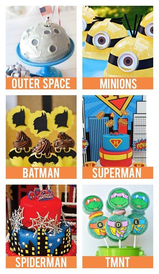 Kid Birthday Party Theme Ideas