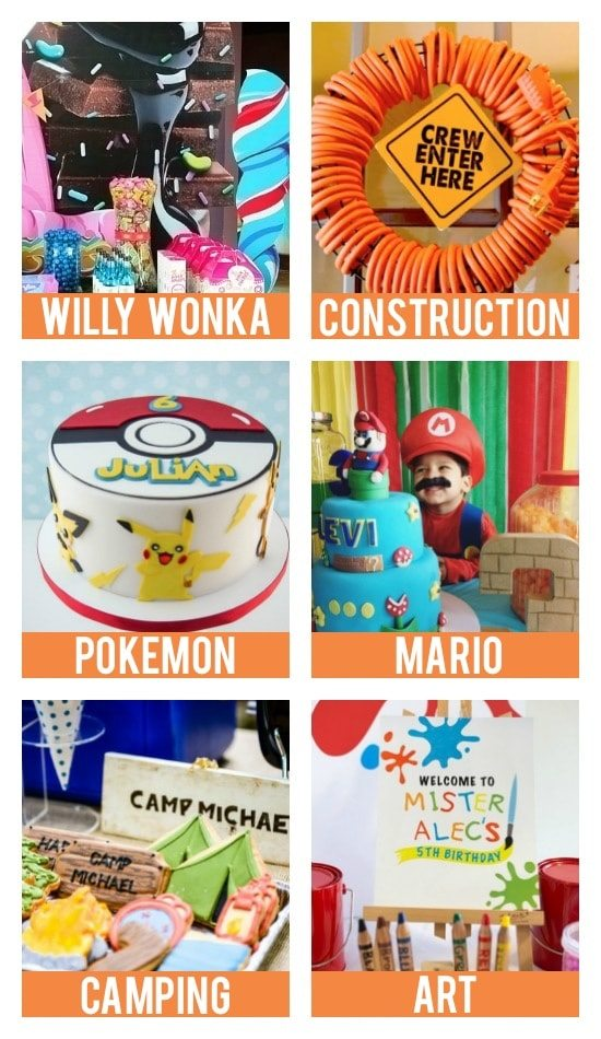 Kid Birthday Party Themes