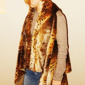 Mommy In Me blog faux fur vest giveaway