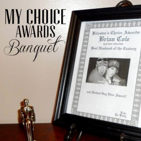 My Choice Awards date night idea to show your spouse how much you adore them