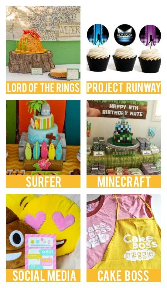 Party Themes for Teens