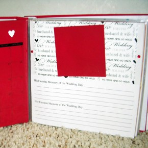 Scrappy Gifts calendar book giveaway