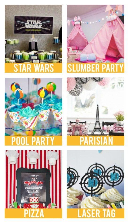 Teen Birthday Party Themes
