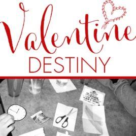 Choose Your Valentine Destiny date night idea