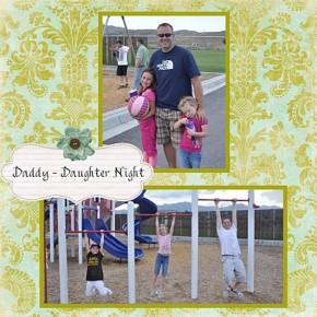 Daddy Daughter date Valentine's Day idea