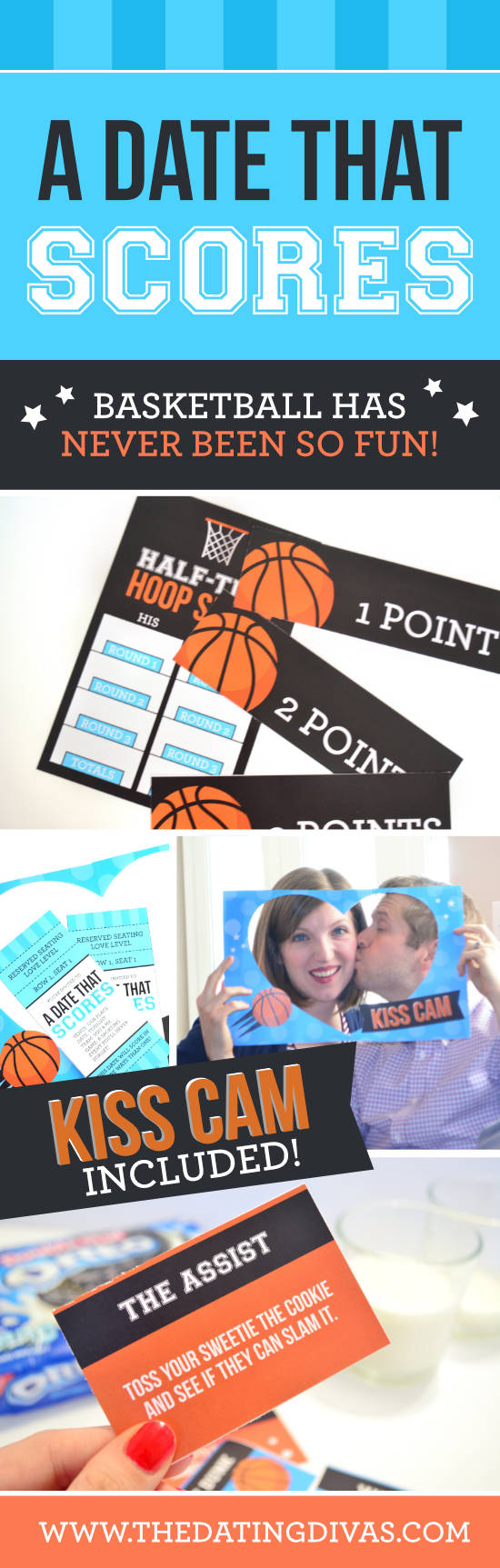 A basketball themed date. #basketballdate #activedates #Marchmadness