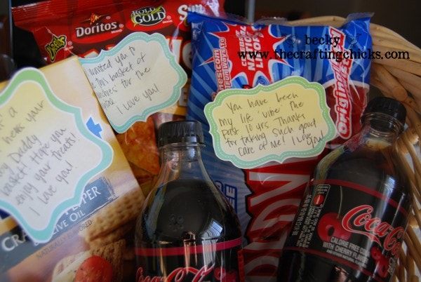 Baby Daddy gift basket for Father's Day