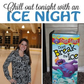 Chill out tonight with this Ice Date Night idea