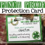 """Pinch-Proof"" Protection Card"