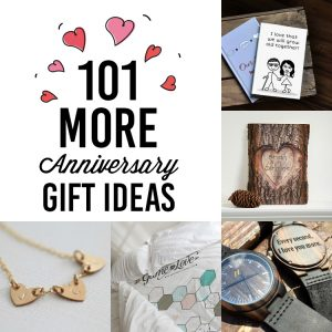 101 Anniversary Ideas