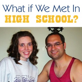 A Little Tipsy Blog: What if we met in high school? Date night idea.
