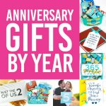 The Most Memorable Anniversary Gifts By Year