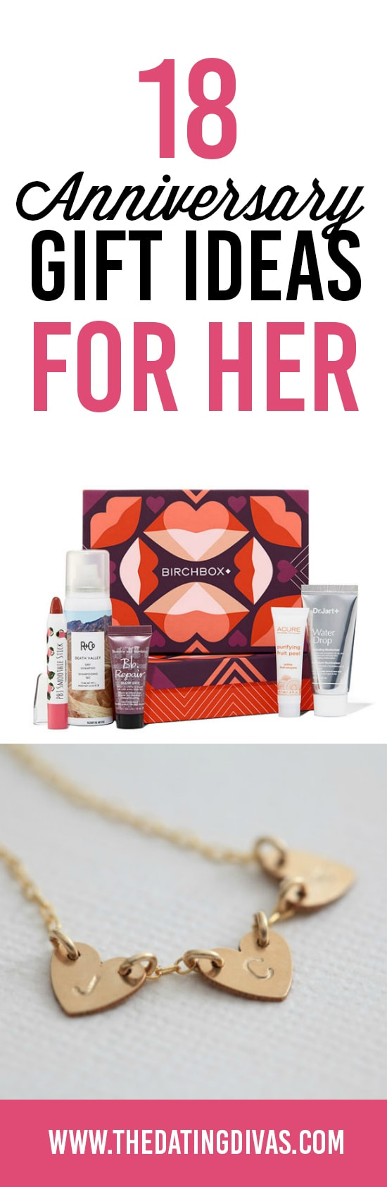 18 Anniversary Gift Ideas for Her