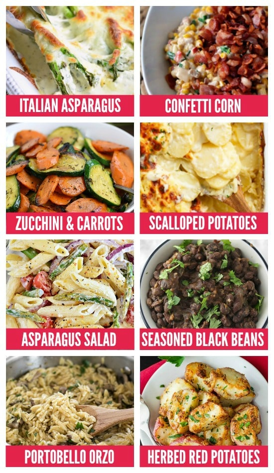 Romantic Anniversary Side Dishes