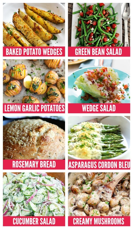 Anniversary Dinner Ideas Side Dishes