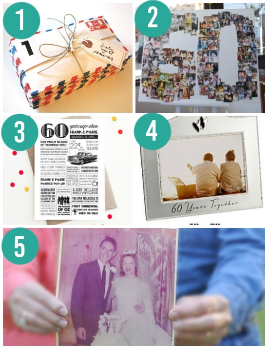 Creative 60th Anniversary Gift Ideas