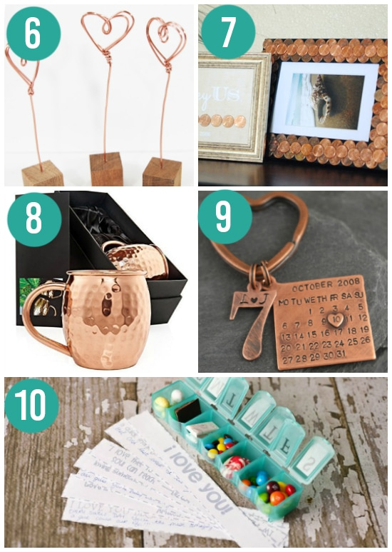 Creative 7th Anniversary Gift Ideas