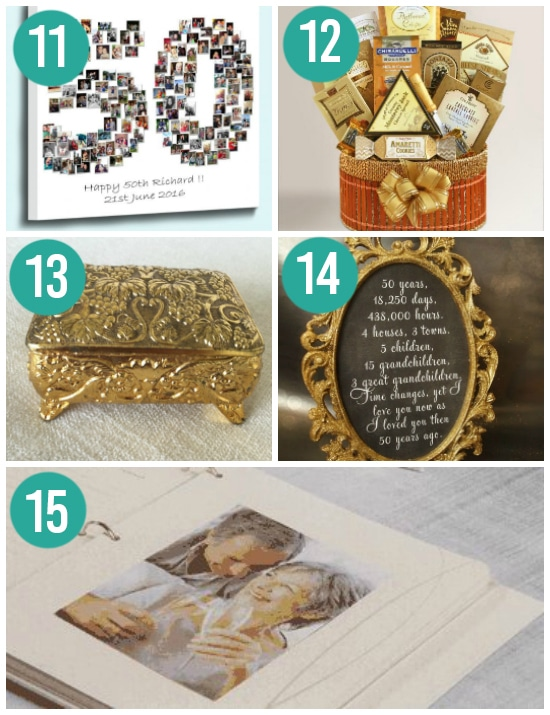 Creative Gold-Themed Anniversary Ideas for Your 50th
