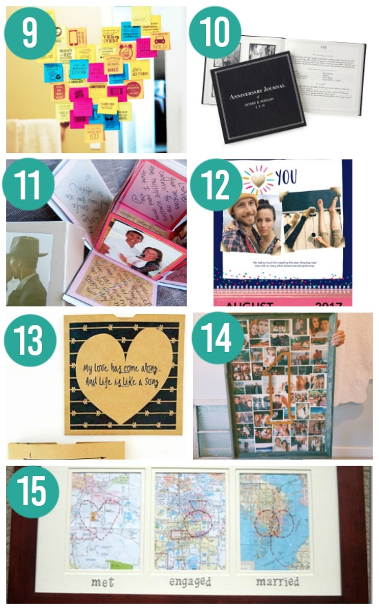 DIY First Anniversary Gift Ideas