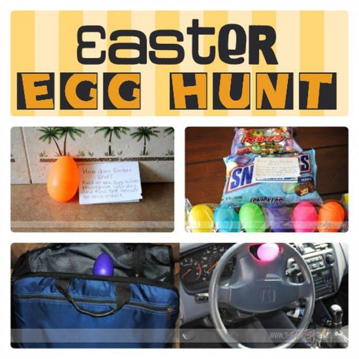 Printable Easter Egg Hunt Ideas + Clues - Trabalhos