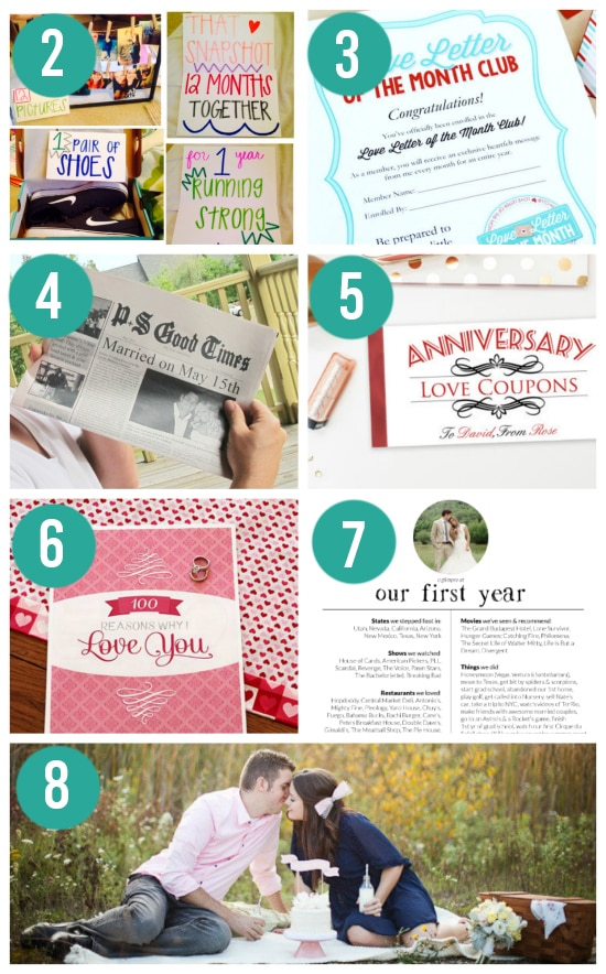 Paper Anniversary Gift Ideas