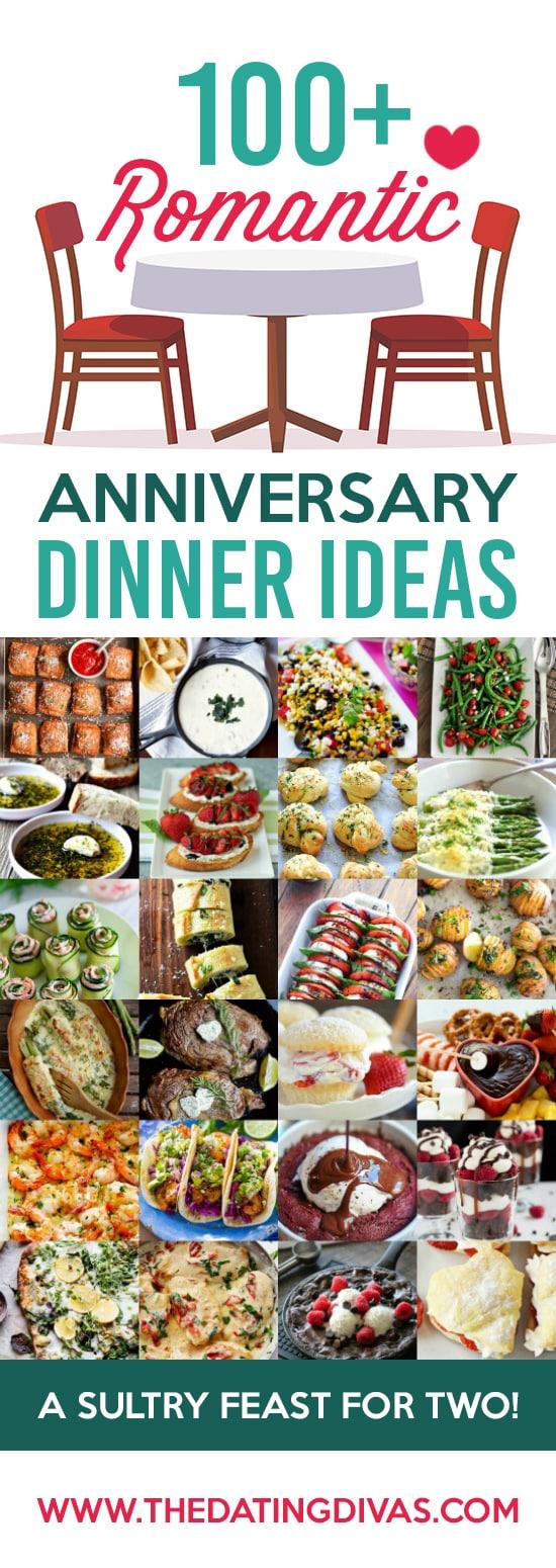 100+ Romantic Anniversary Dinner Ideas