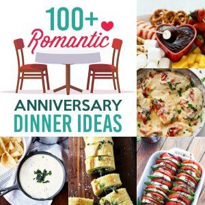 Romantic Anniversary Dinner Ideas