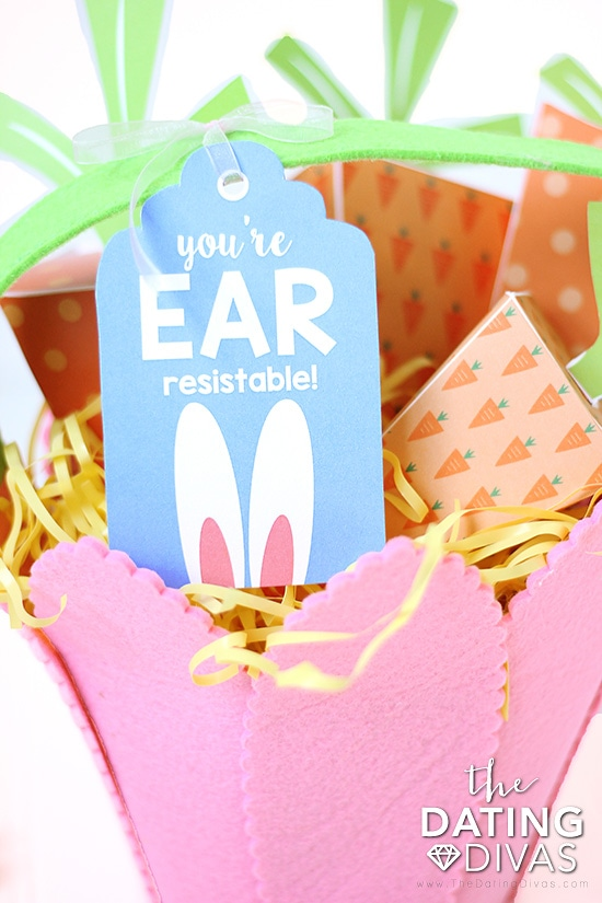 Some Bunny Loves You Basket Gift