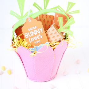Some Bunny Loves You Easter Basket