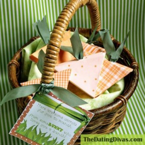 Some Bunny Loves You Easter Basket idea for your spouse.