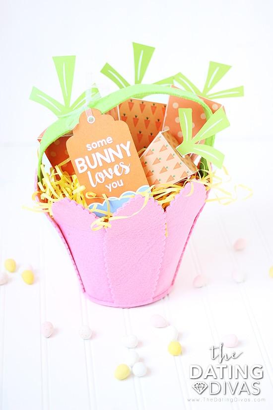 Soem Bunny Loves You Easter Basket