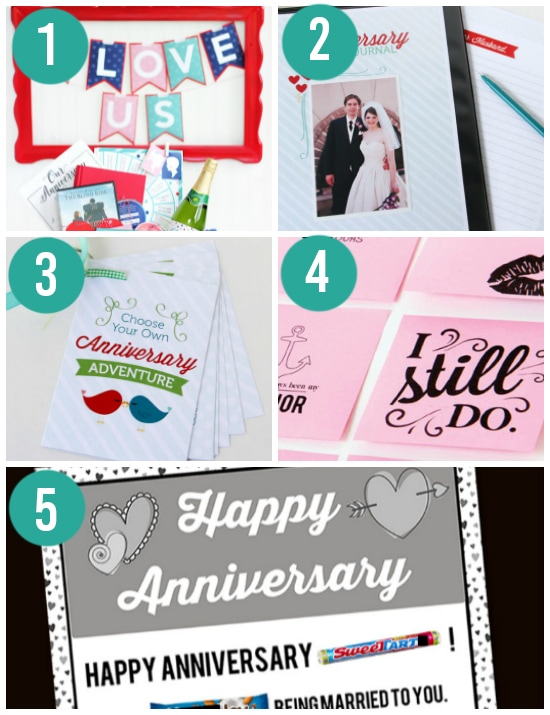 The BEST Creative Anniversary Gift Ideas