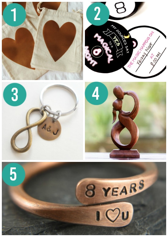 Traditional Bronze Anniversary Gift Ideas