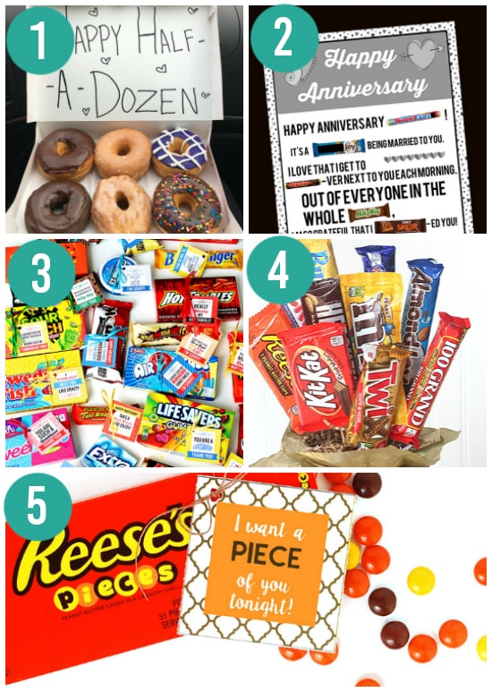 Traditional Candy Anniversary Gift Ideas