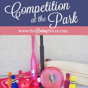 Have a competition at the park with your spouse for date night tonight!