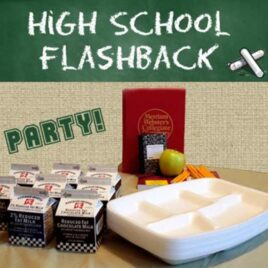 Go back to High School with your spouse on this Flashback date.