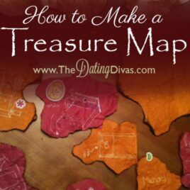 Create this authentic looking treasure map for your spouse or kids!