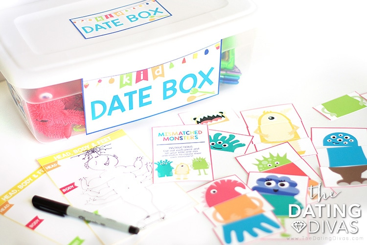 The Kid Date Box is Packed with Fun to Keep the Kids Entertained